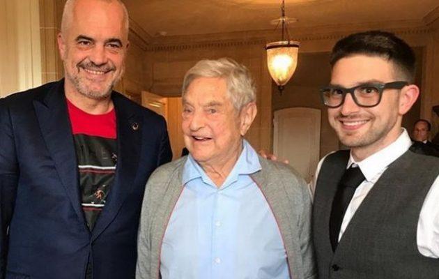 Στην Αλβανία «αφεντικό» ο Τζορτζ Σόρος ισχυρίζεται αμερικανικό Παρατηρητήριο