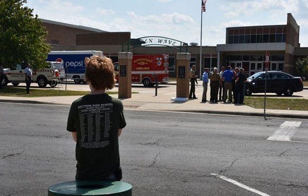 Πυροβολισμοί σε σχολείο στο Ιλινόις με έναν τραυματία – Συνελήφθη ο δράστης