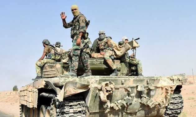 Ο συριακός στρατός έδιωξε το Ισλαμικό Κράτος από τη συνοικία Αλ Τζάφρα της Ντέιρ Αλ Ζουρ