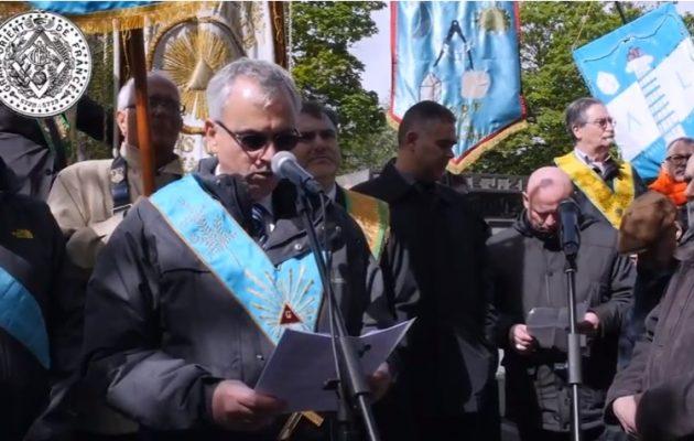 Και φέτος οι Ελευθεροτέκτονες τίμησαν τους νεκρούς της Παρισινής Κομμούνας (βίντεο)
