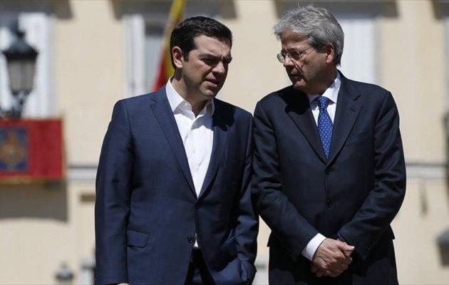 Επενδύσεις και ενέργεια στη συνάντηση Τσίπρα – Τζεντιλόνι την Πέμπτη στην Κέρκυρα