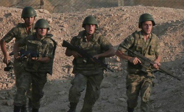 25 Τούρκοι στρατιώτες τραυματίες και επτά αγνοούμενοι από έκρηξη οβίδας