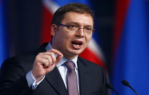 Ο Βούτσιτς απέκλεισε το ενδεχόμενο αναγνώρισης ανεξαρτησίας του Κοσόβου