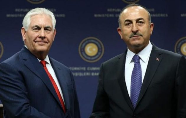 Συνομιλία Τίλερσον και Τσαβούσογλου εν μέσω της αμερικανο-τουρκικής κρίσης