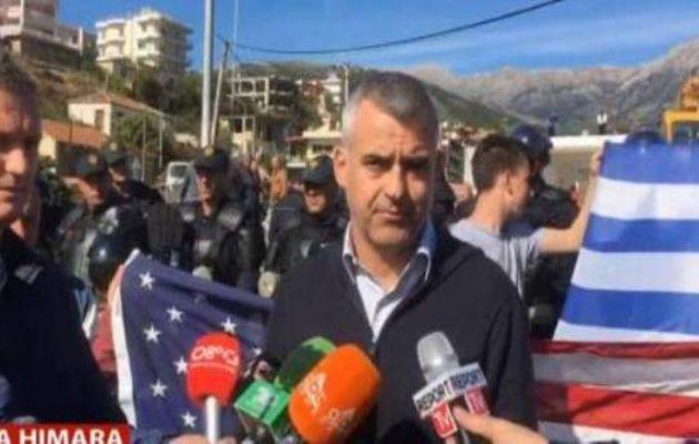"""Βαγγέλης Ντούλες: """"Ο Ράμα μεθοδεύει τον εκτοπισμό μας – Η Χειμάρρα δεν θα πέσει"""" (βίντεο)"""