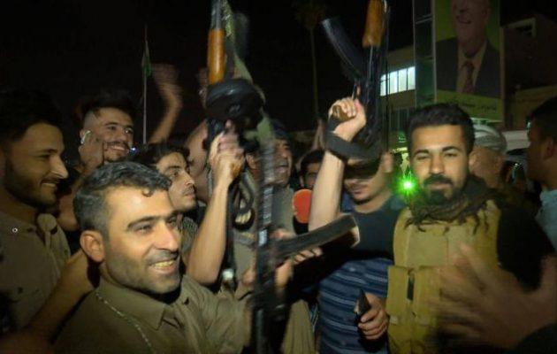 Πεσμεργκά, νέοι, γέροι και γυναίκες πήραν τα όπλα στο Κιρκούκ και περίμεναν τους Ιρακινούς για μάχη