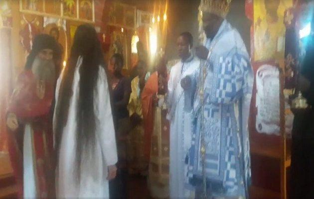 Η ηθοποιός Ναταλία Λιονάκη ασπάστηκε και επίσημα τον μοναχισμό στην Κένυα (βίντεο)