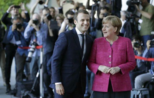 Μακρόν και Μέρκελ (οι δύο άσχετοι) θα τηλεφωνήσουν στον Πούτιν για την εκεχειρία στη Συρία