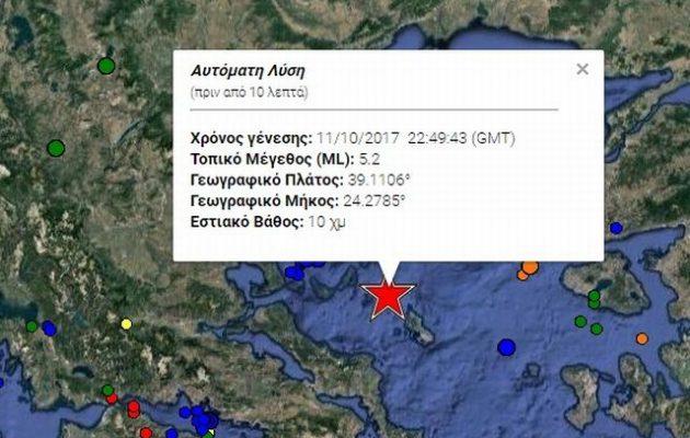 Σεισμός κούνησε την Αθήνα στη 01.49 ξημερώματα Πέμπτης