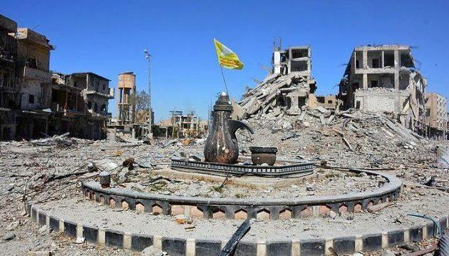 Οι Κούρδοι (SDF) ανακήρυξαν και επίσημα την απελευθέρωση της Ράκα από το Ισλαμικό Κράτος