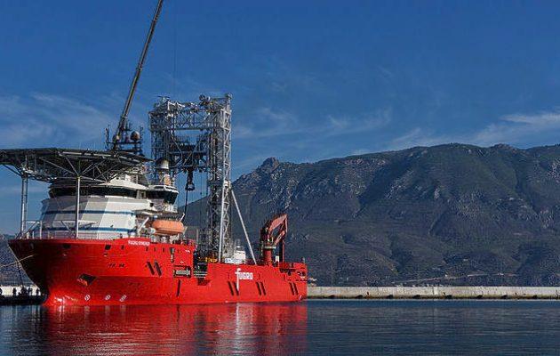 Τι ψάχνει το πλοίο-γεωτρύπανο Fugro Synergy που ξεκίνησε έρευνες στον Κορινθιακό
