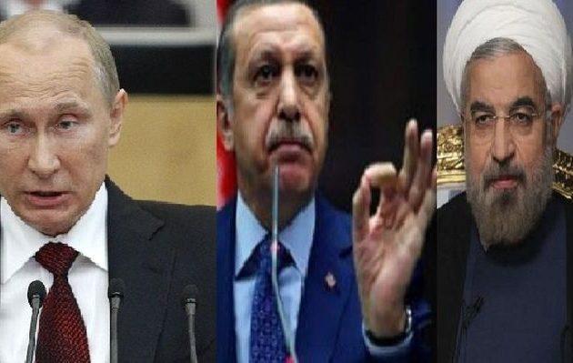 Ερντογάν και Ροχανί με «οικοδεσπότη» τον Πούτιν ετοιμάζουν σχέδια για τη Συρία