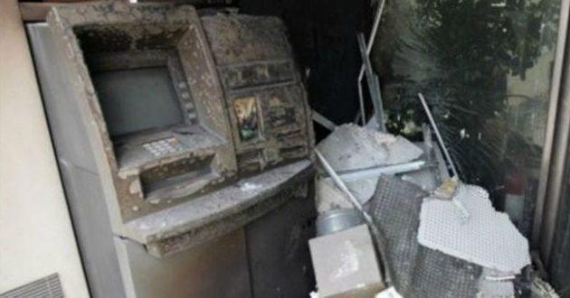 Ανατίναξαν δύο ATM στη Λυκόβρυση με διαρροή αερίου