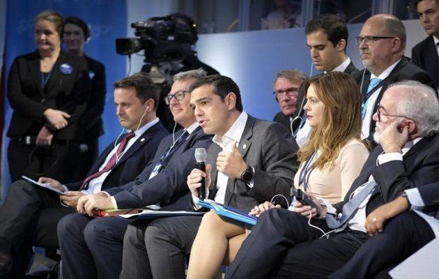 Ο Τσίπρας πρότεινε την δημιουργία  ευρωπαϊκής πολιτιστικής Ολυμπιάδας κάθε δύο χρόνια