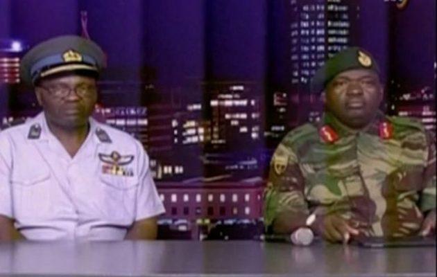 Τα τανκς βγήκαν στη Ζιμπάμπουε – Στρατός: «O Πρόεδρος είναι ασφαλής» (φωτο+βίντεο)