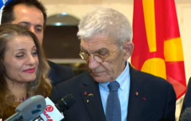 """Ο φιλελέ """"χωριατοαστός"""" Μπουτάρης αποκάλεσε τα Σκόπια… """"Μακεδονία"""" και παριστάνει και το μαγκάκι (βίντεο)"""