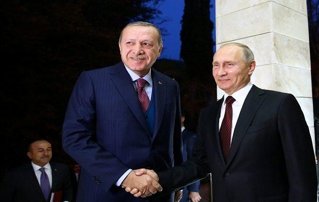 Πούτιν: Οι σχέσεις μας με την Τουρκία έχουν αποκατασταθεί πλήρως