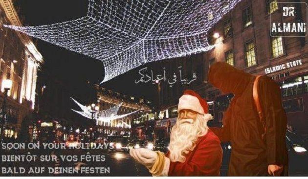 Το Iσλαμικό Κράτος απειλεί με ματωμένα Χριστούγεννα Ευρώπη και ΗΠΑ (φωτο)