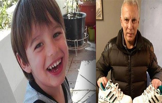 Ο Γκάλης βγάζει στο «σφυρί» τα παπούτσια του για τον 5χρονο Χριστόφορο που πάσχει από καρκίνο