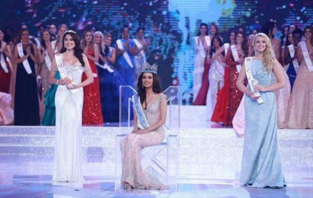Ινδή φοιτήτρια Ιατρικής στέφθηκε Μις Κόσμος 2017
