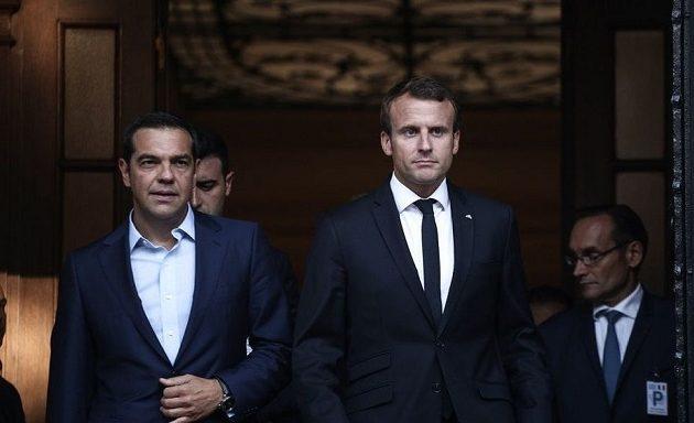 Τo πρωί της Παρασκευής θα δει ο Τσίπρας τον Μακρόν στο Παρίσι