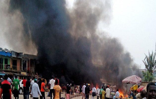 Δέκα νεκροί από βομβιστική επίθεση αυτοκτονίας στην Νιγηρία