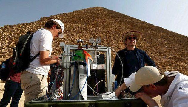Μυστήριο καλύπτει την ανακάλυψη μυστικής «στοάς» στην Πυραμίδα του Χέοπα