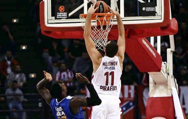 Στην κορυφή της Euroleague ο Ολυμπιακός: «Σάρωσε» 85-59 τον Ερυθρό Αστέρα