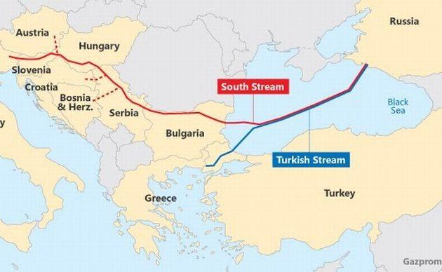Οι Τούρκοι θέλουν να περάσουν τον Turkish Stream μέσω Βουλγαρίας