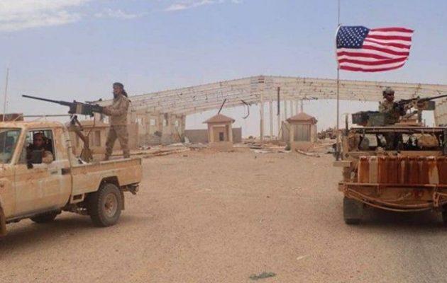 Η Δαμασκός ζήτησε την αποχώρηση των αμερικανικών δυνάμεων από τη νότια Συρία