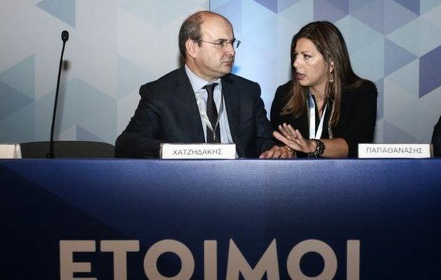 Συνέδριο με άδειες καρέκλες κάνει η ΝΔ του Μητσοτάκη