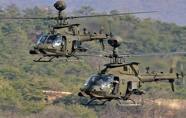 Η Ελλάδα αγοράζει 70 ελικοπτέρα από τον αμερικανικό στρατό αντί 46 εκατ.