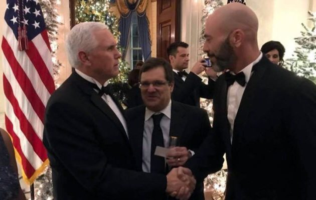 Βαλάντης: Mε… ξάδερφο και Μάικ Πενς για Χριστούγεννα στο Λευκό Οίκο (φωτο)