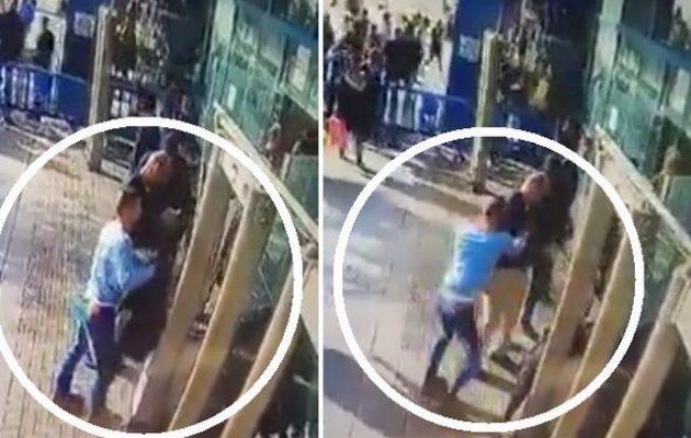 Μοναχόλυκος μαχαίρωσε Ισραηλινό αστυνομικό στην Ιερουσαλήμ (βίντεο)