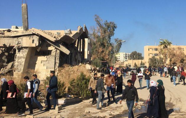 Η πείνα και το κρύο θερίζουν τους κατοίκους της Μοσούλης – Το 50% της πόλης είναι ερείπια
