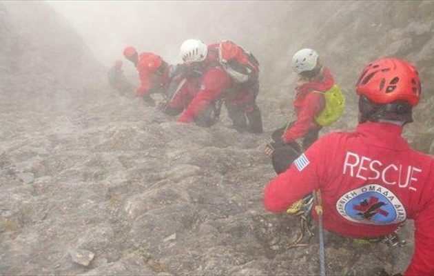 Νέο θρίλερ στον Όλυμπο: Νεκρός 55χρονος ορειβάτης που έπεσε σε χαράδρα