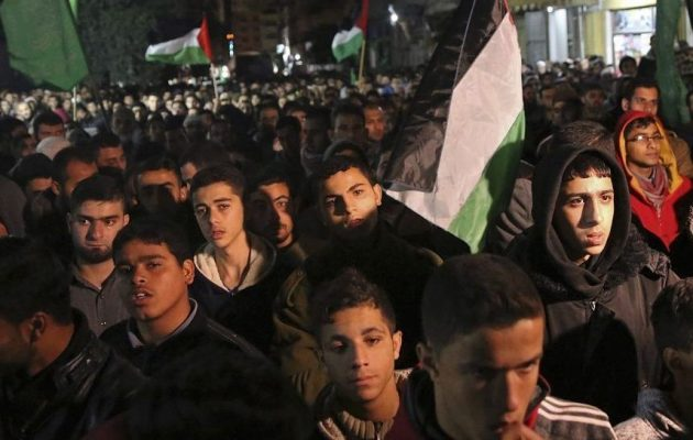 Διαδηλώσεις στην Ιορδανία κατά της αναγνώρισης της Ιερουσαλήμ ως πρωτεύουσας του Ισραήλ