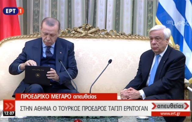 Ο Παυλόπουλος το «ξέκοψε» στον Ερντογάν: «Αδιαπραγμάτευτη η Συνθήκη της Λωζάνης»