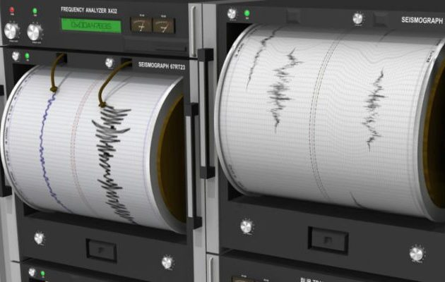 Σεισμός 4,8 Ρίχτερ μεταξύ Κεφαλονιάς και Ζακύνθου