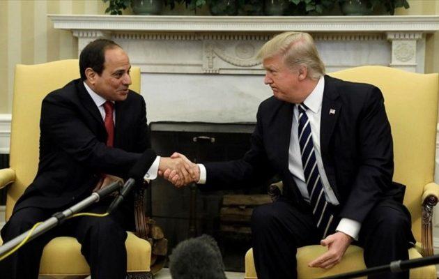 Αποθέωσε Σίσι ο Τραμπ: Είναι σπουδαίος πρόεδρος