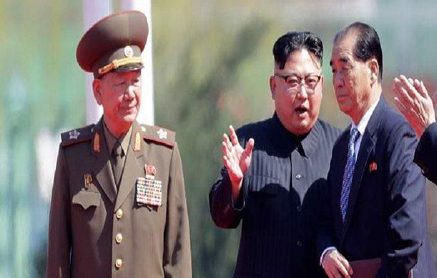 Oργιάζουν οι φήμες ότι εκτελέστηκε από τον Κιμ o δεύτερος ισχυρότερος άνδρας της Β. Κορέας