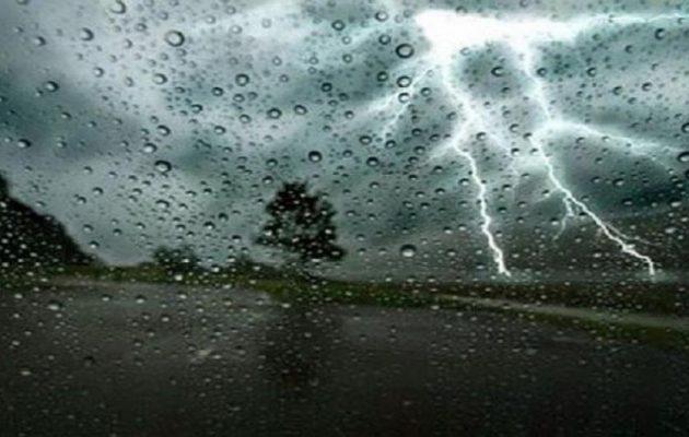 Έκτακτο δελτίο επιδείνωσης καιρού: Ισχυρές βροχές και καταιγίδες από το Σάββατο
