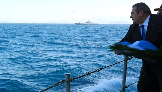 To Πολεμικό Ναυτικό αποστομώνει τους Τούρκους για τα Ίμια