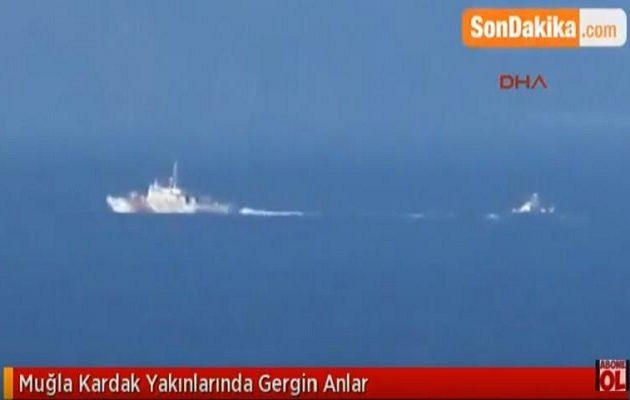 Προκαλούν οι Τούρκοι: Aνακάλυψαν νέο «θερμό» επεισόδιο στο Αιγαίο (βίντεο)