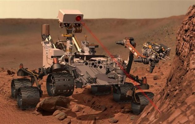 Με τη χρήση λέιζερ θα αναζητήσουν οι επιστήμονες το 2020 ενδείξεις ζωής στον Άρη