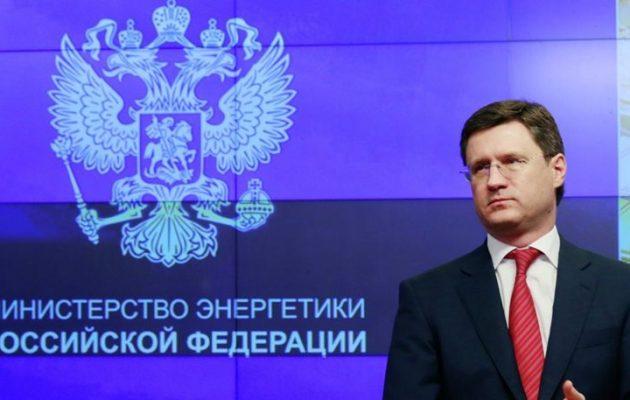 «Παράνομες» οι νέες κυρώσεις των ΗΠΑ στη Ρωσία λέει ο Αλεξάντρ Νόβακ