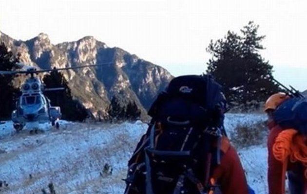 Αίσιο τέλος: Στο νοσοκομείο μεταφέρθηκε η 35χρονη ορειβάτης που τραυματίστηκε στον Όλυμπο