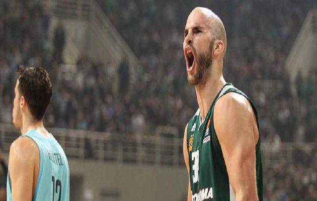 Ο Παναθηναϊκός κέρδισε και την Μπαρτσελόνα (84-75) στο απόρθητο ΟΑΚΑ