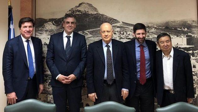 Kινεζικός όμιλος ενδιαφέρεται για επενδύσεις στην Ελλάδα
