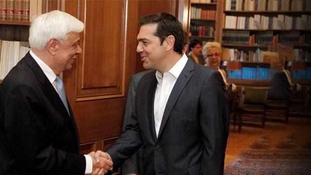 Ο Αλέξης Τσίπρας ενημερώνει στις 14.00 τον Προκόπη Παυλόπουλο